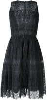 Ermanno Scervino ruched lace dress