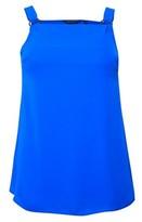 Dorothy Perkins Womens Dp Curve Cobalt Metal Tab Camisole Top, Cobalt