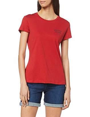 Mustang Women's Paris T-Shirt Light Grey Mel. 4163, (Size:S)