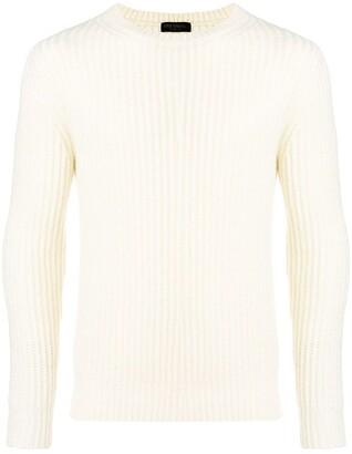 Dell'oglio Ribbed Knit Sweater