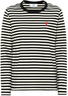 Ami de Cur striped T-shirt