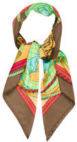 Hermes Grand Tenue Silk Scarf