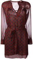 Etoile Isabel Marant printed wrap dress - women - Silk/Viscose - 38