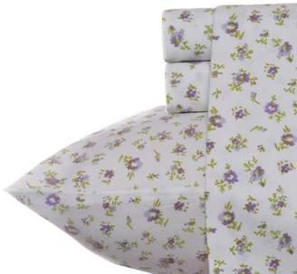 Laura Ashley Cotton Sheet Sets Queen Petite Fleur