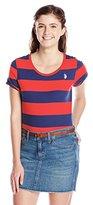 U.S. Polo Assn. Junior's Wide Stripes T-Shirt