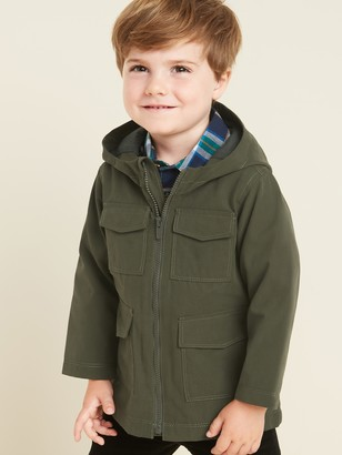 Old Navy Hooded Utility Jacket for Toddler Boys