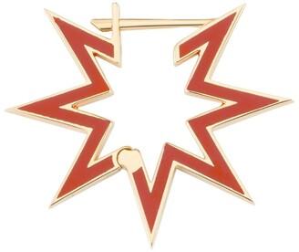 Bee Goddess Rose Gold Star Light Venus Star Earring