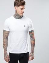 Pretty Green Mitchell Crew Neck T-shirt In White