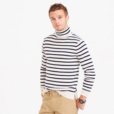 J.Crew Wallace & Barnes wool turtleneck in stripe