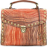 Patricia Nash Wavy Striped Simona Top-Handle Small Satchel