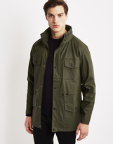 Rains Four Pocket Jacket Green