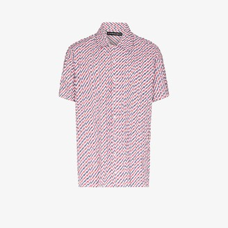 Y/Project Striped Button-Up Shirt