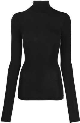 Wolford Stretch Turtleneck Top