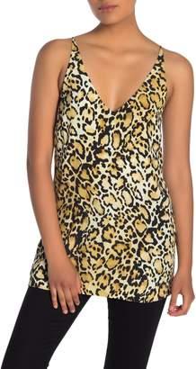 Fifteen-Twenty Side Slit Leopard Printed Cami
