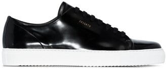 Axel Arigato Cap Toe patent-leather sneakers