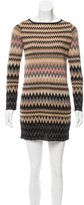 M Missoni Metallic Patterned Dress
