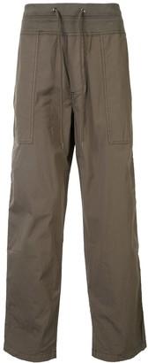 James Perse Drawstring-Waist Straight-Leg Cargo Pants
