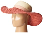 Vince Camuto Color Block Stripe Floppy Traditional Hats