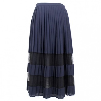 Claudie Pierlot Navy Skirt for Women