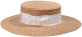 Eric Javits Gondolier Woven Boater Hat