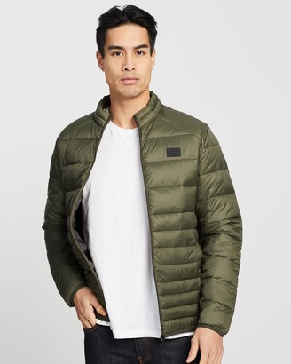 Jack and Jones Bomb Puffer Collar Jacket