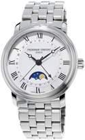 Frederique Constant Men's Classics Auto Moonphase 40mm Steel Bracelet & Case Automatic Watch FC-330MC4P6B