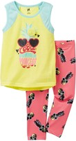 Petit Lem Cool Summer Princess Pajama - 2-Piece Set (Little Girls & Big Girls)