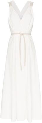 Nanushka Lilith belted wrap dress