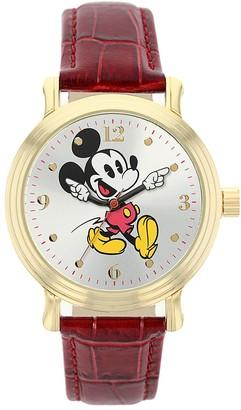 Disney Disney's Mickey Mouse Women's Leather Watch