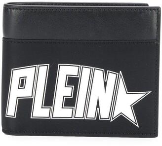 Philipp Plein Logo Printed Credit Card Wallet