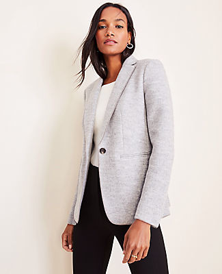 Ann Taylor The Tall Hutton Blazer in Sweater Knit