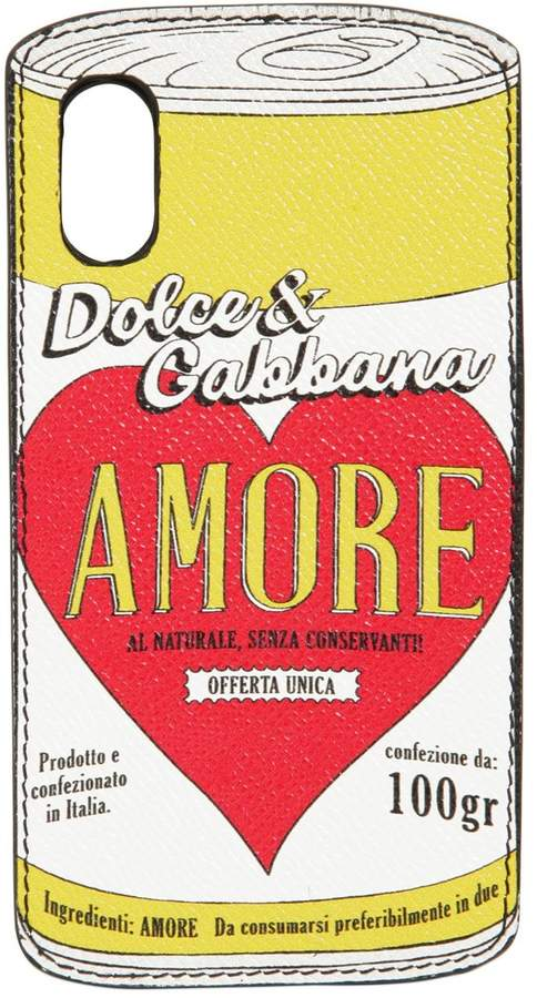 Dolce & Gabbana Amore Can Iphone X Cover
