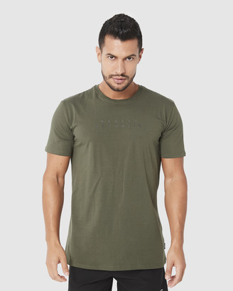 Muscle Republic - Men's Green T-Shirts & Singlets - Sydney Tee - Size One Size, XL at The Iconic