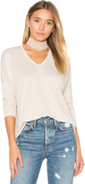 Sundry Terry Long Sleeve in Top