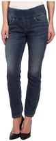 Jag Jeans Nora Pull-On Skinny Knit Denim in Forever Blue