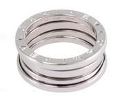 Bulgari B.Zero1 18k White Gold Ring Size 6.5