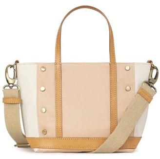Vanessa Bruno Baby Waxed Linen Cabas Tote Bag