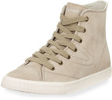 Tretorn Match Hi 3 Suede High-Top Sneaker, Sand