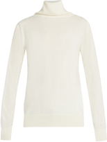 The Row Caya wool and cashmere-blend roll-neck sweater