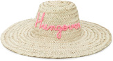 Poolside L'ombre Straw Sunhat