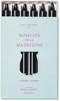Cire Trudon S/6 Madeleine Taper, Black