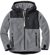 Boys Chill Check Fleece Jacket