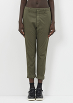 Hope khaki green news trouser