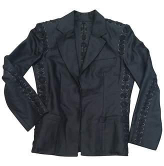 Saint Laurent Black Cotton Jackets