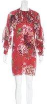 Gucci Fall 2015 Shanghai Blooms Dress