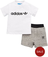 adidas Baby Boy Tee And Short Set