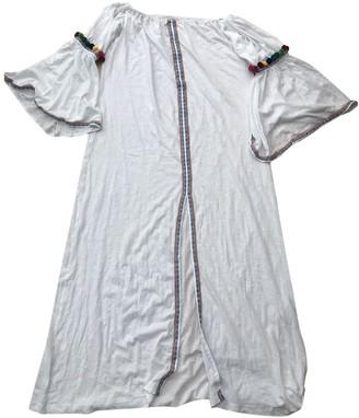 Pitusa White Cotton Dresses
