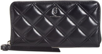 Marc Jacobs Standard Quilted Leather Continental Wallet