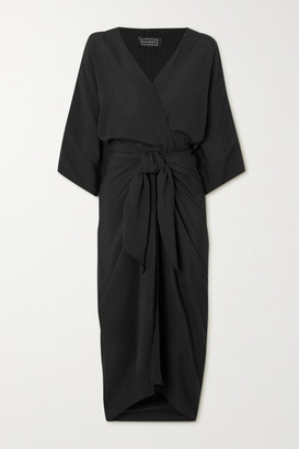Haight Ana Woven Wrap Dress