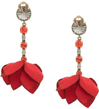 Marni Hanging Flower Earrings
